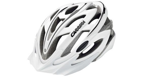 Carrera MTB Helm C-Trail white black shiny